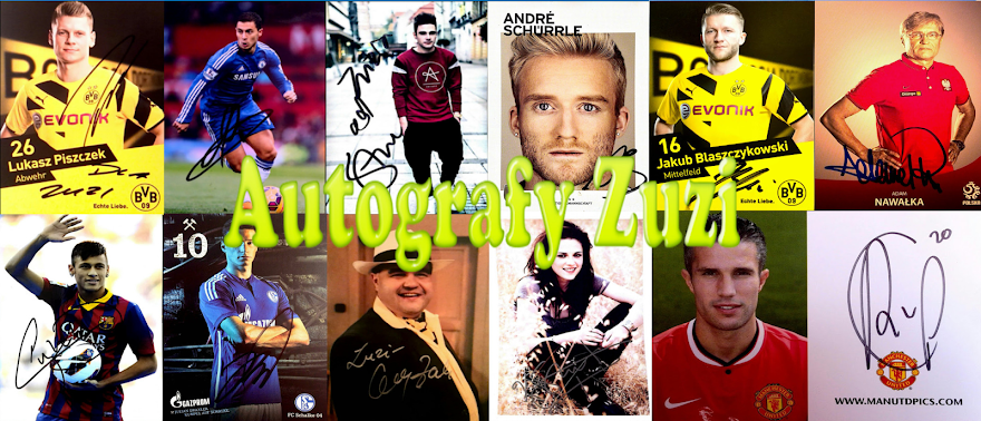 Autografy Zuzi