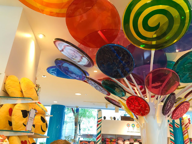 Dylan's Giant Lollipop Displays   NYC   Chichi Mary Blog