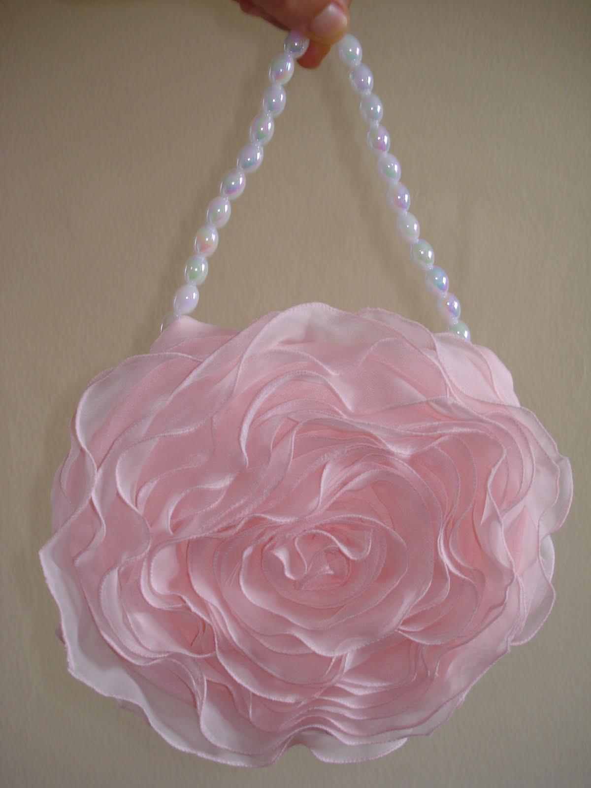 Bolsa De Festa Rose : Mary art bolsa rosa para festa proven?al