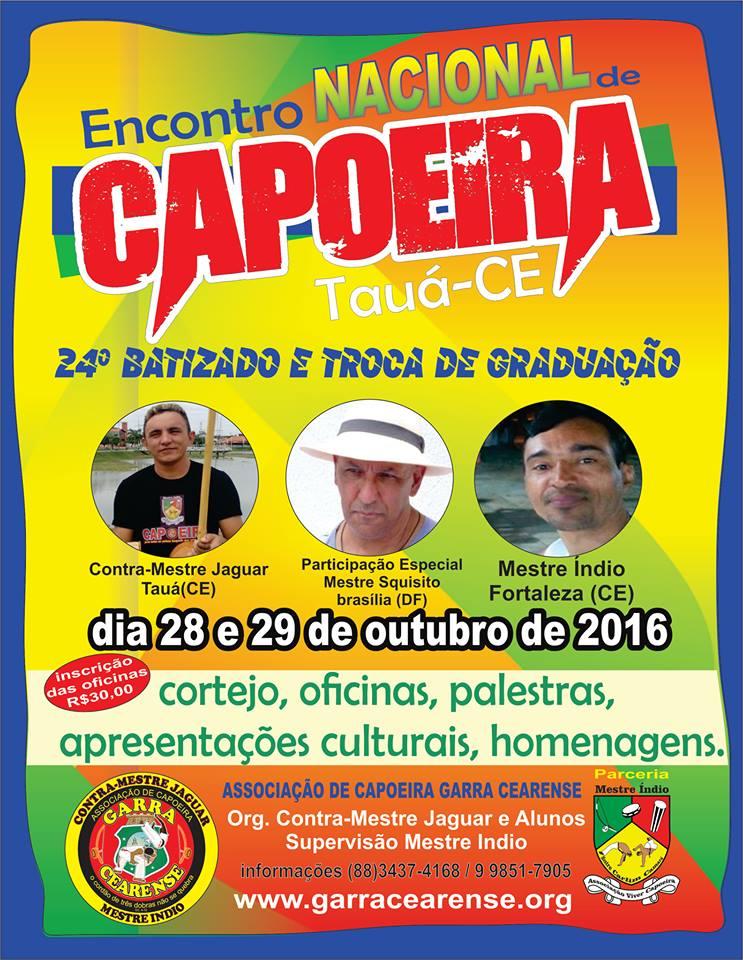 Encontro Nacional de Capoeira - Tauá.