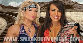 No Way Out PPV Divas Championship Layla vs Beth Phoenix Divas Title
