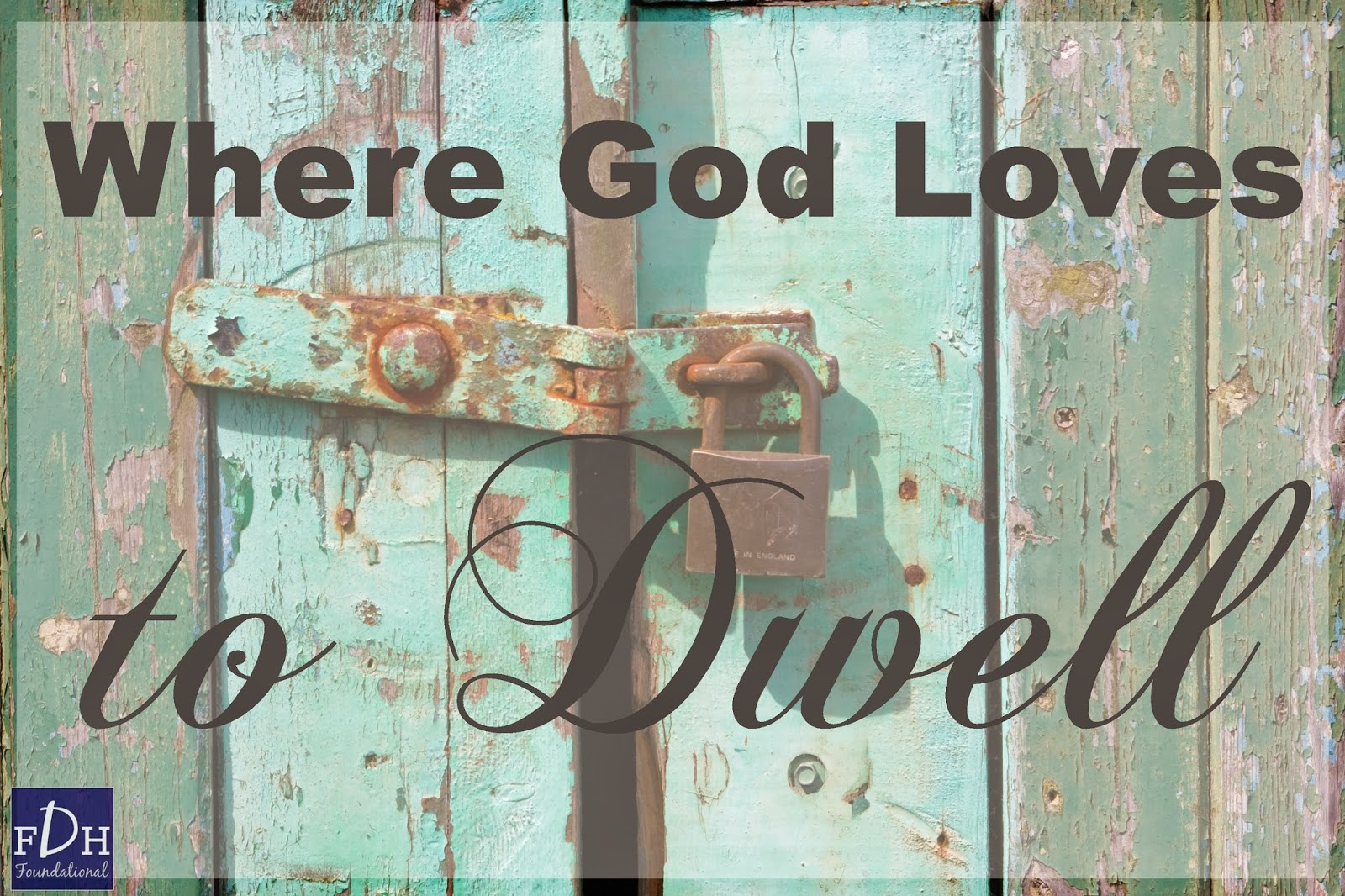 god likes to dwell with his What is dwell definition and meaning:dwell dwel  wherever god is said to dwell in a place, the targum renders that he causes his shekinah to dwell there.