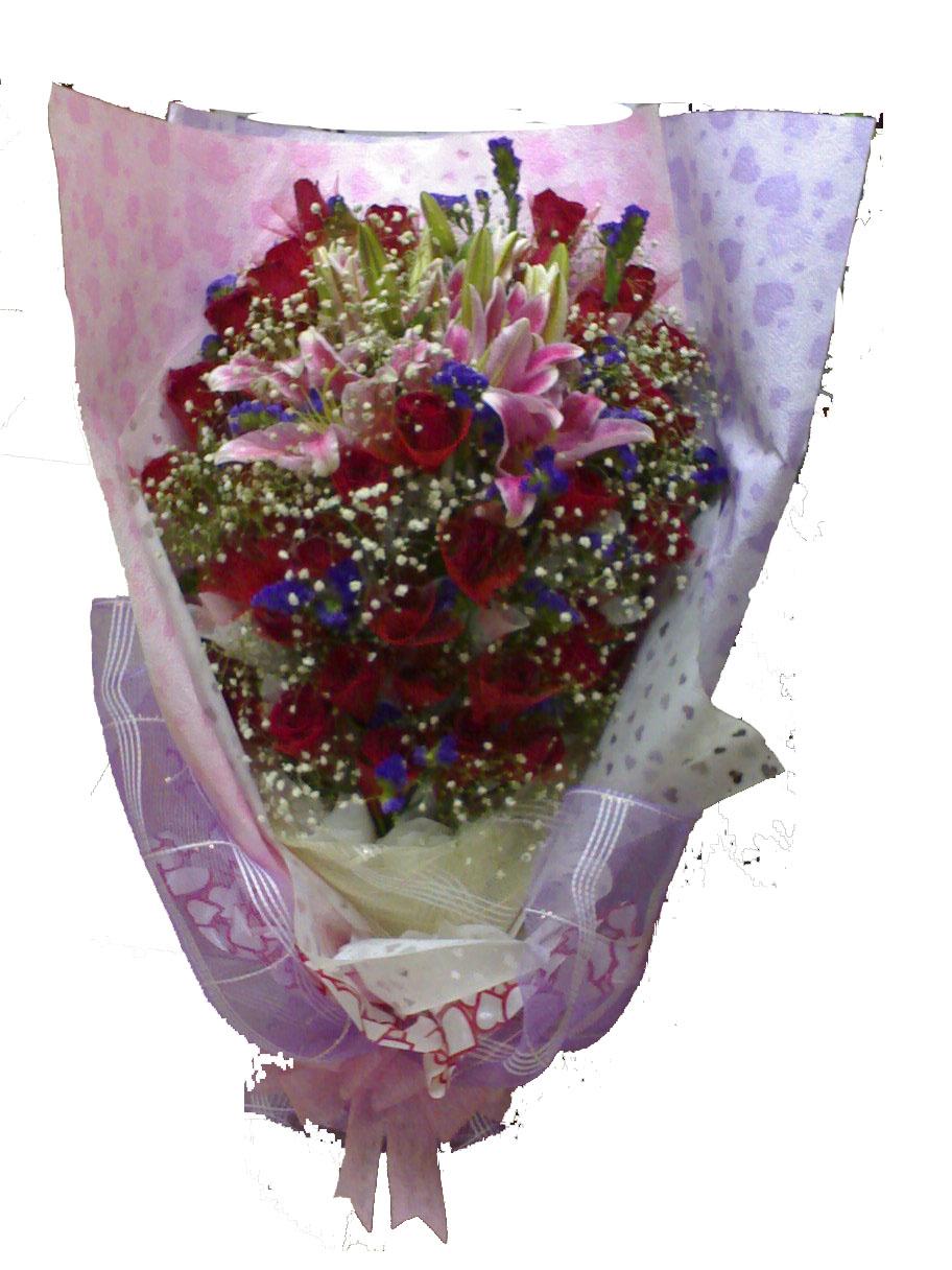 E Flower & Gift: Hand Bouquet ~~ Fresh Flower