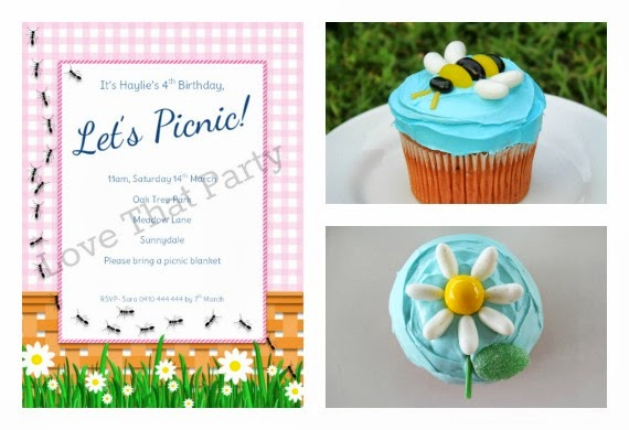 birthday cake, how to, picnic party, daisy cake, party ideas, bee cake