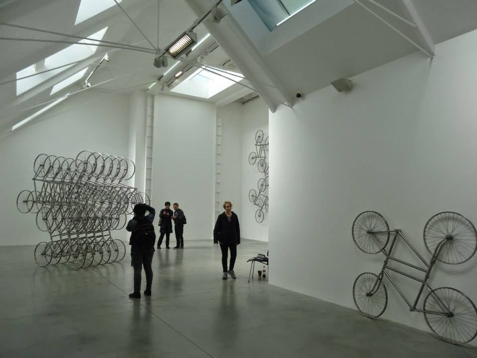 Ai Weiwei Exhibition at Lisson Gallery, London - Main Room