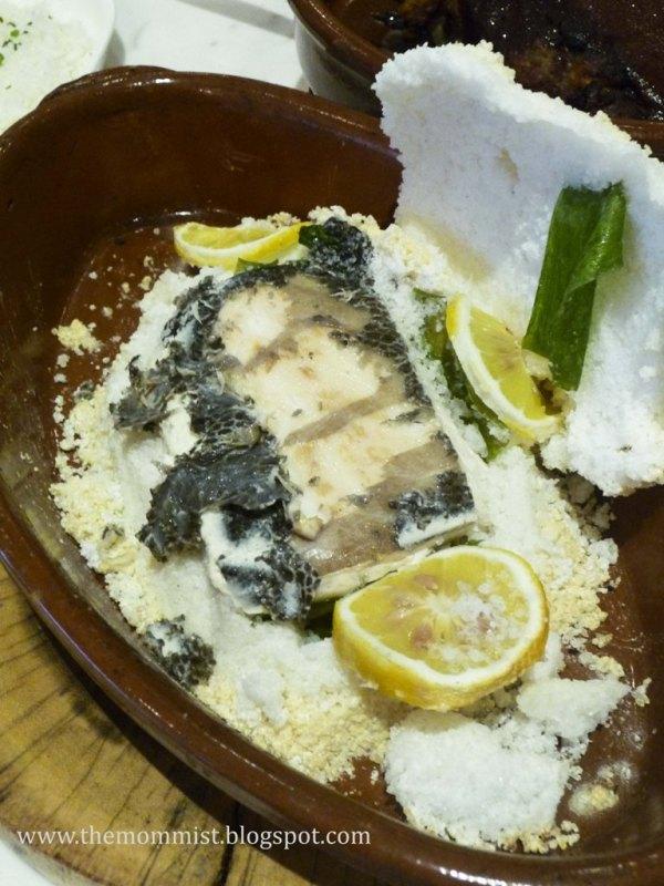 Salt-baked Gindara Fillet at Stella