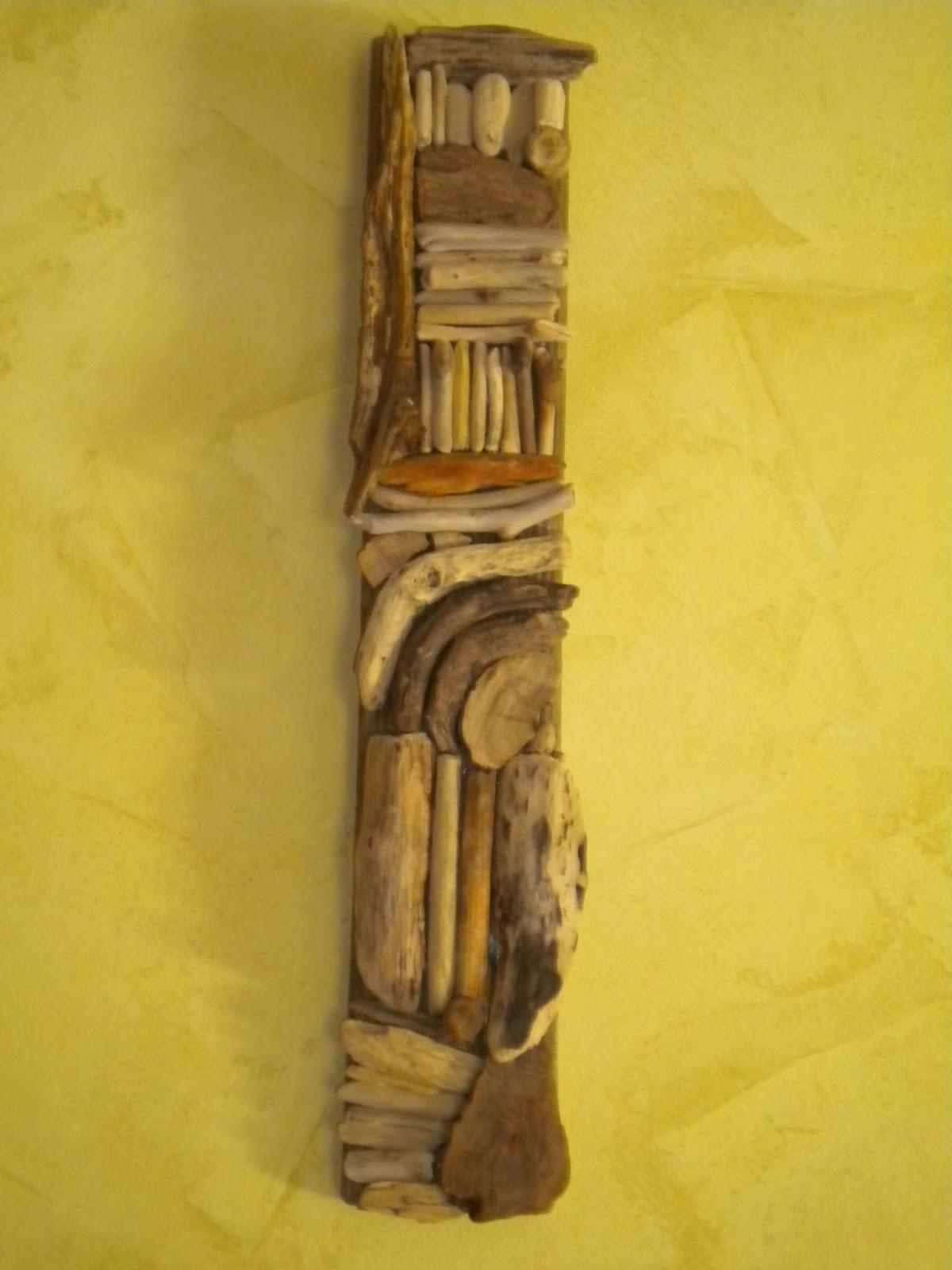 Latelierdepec tableau 3d en bois flotte for Tableau bois flotte