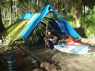 ian battrick surf camping trip indonesia lunasurf surfboard tail pads