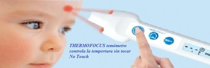THERMOFOCUS termómetro para el control de temperatura sin tocar