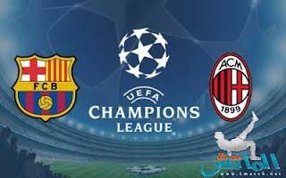 Milan vs FC Barcelona LIVE