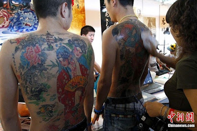 International Tattoo Convention em Beijing