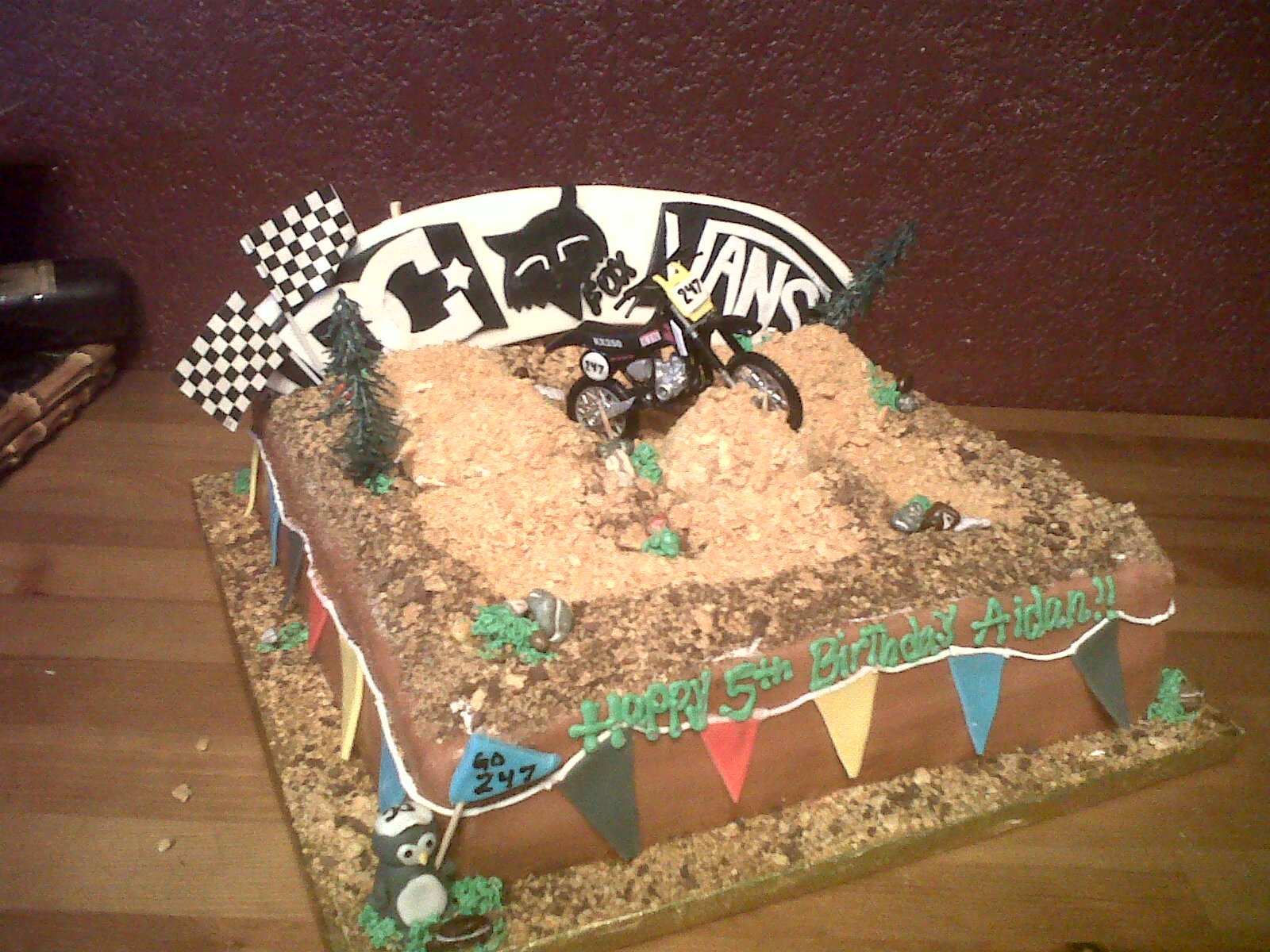 dirt bike cake - photo #13