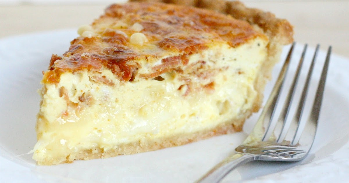 A Bitchin' Kitchen: Brie and Bacon Quiche