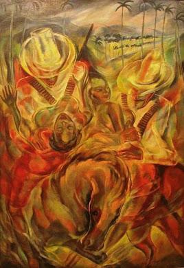 El rapto de las mulatas, Carlos Enríquez