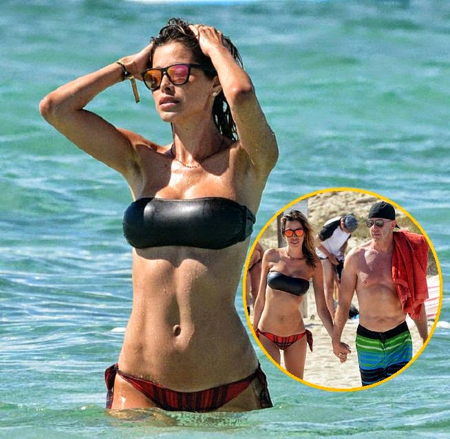 We have to say, if we owned this story, we would reading it all day, everyday just like forever day. And it is just us that thinks which actually looked kind of cool as Aida Yespica gushed about how to supported her new relationship during a vacation at Formentera, Spain on Friday, June 27, 2014.