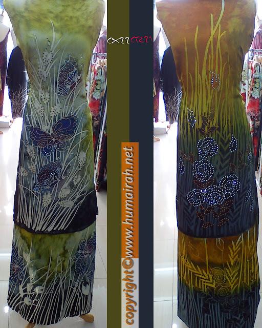 Batik Sutera Crepe Tampal Butterfly