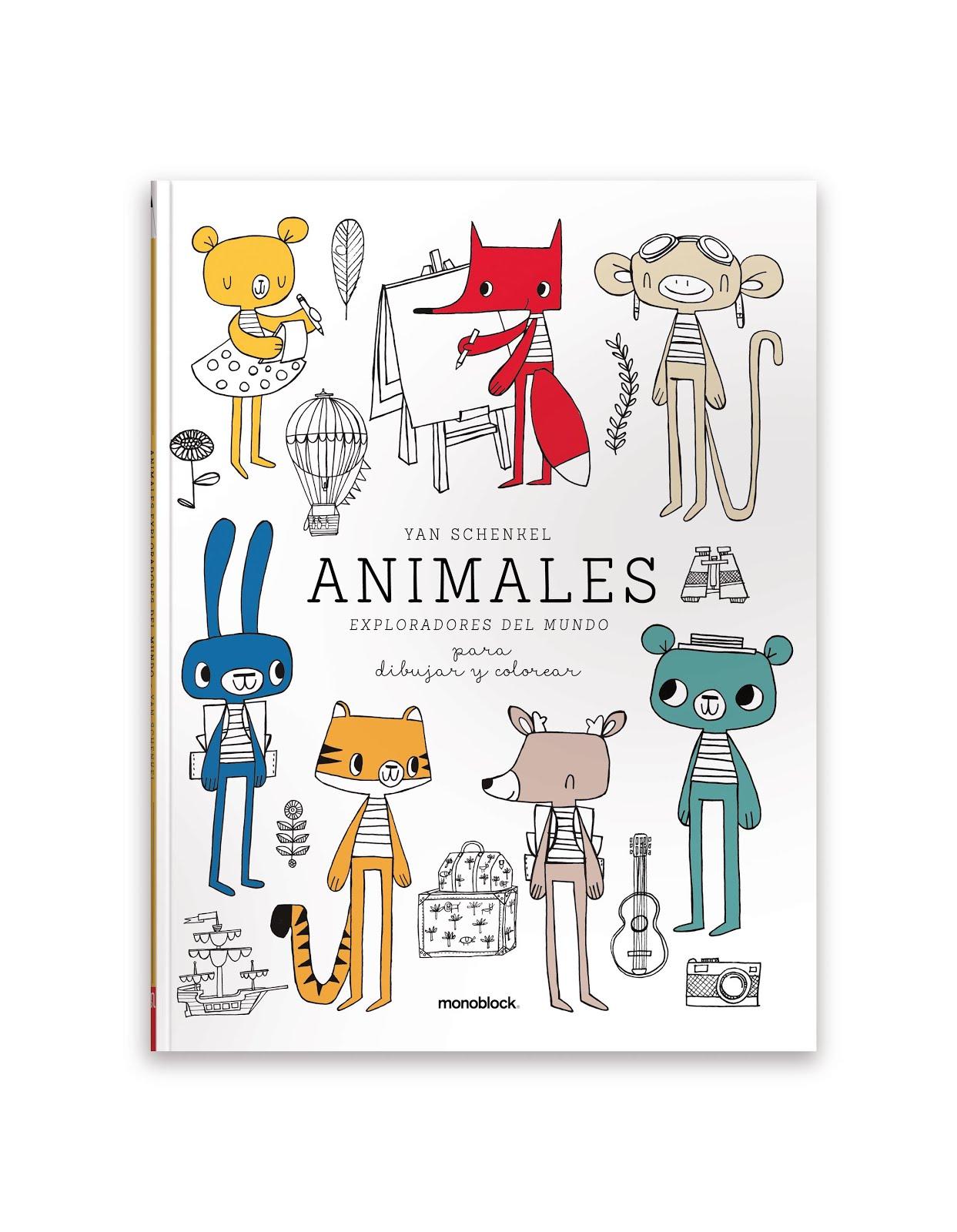 Animales exploradores del mundo