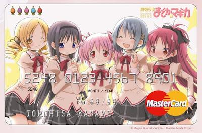 madoka magica mastercard tarjeta credito