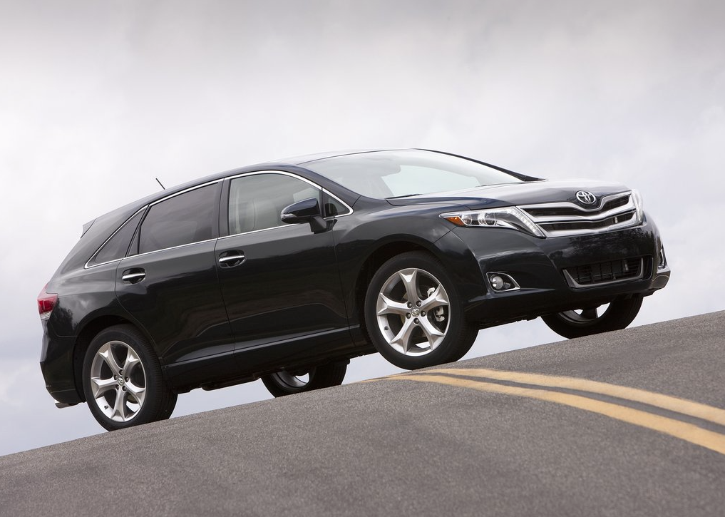 2013 Toyota Venza black