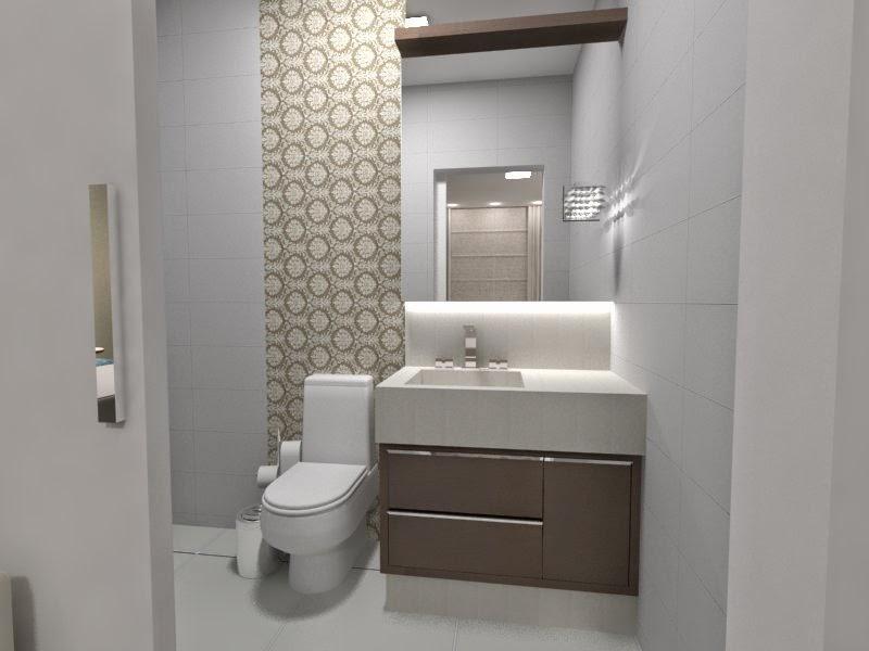 Decore  Design de Interiores Janeiro 2015 -> Armario De Banheiro Embutido Com Espelho
