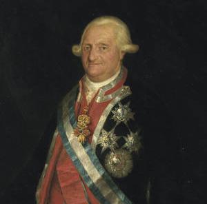 el villano arrinconado, humor, chistes, reir, satira, Carlos IV, Juan Carlos I
