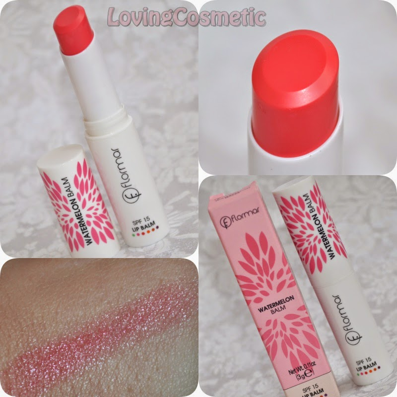 Flormar, maquillaje primavera 2015 watermelon balm
