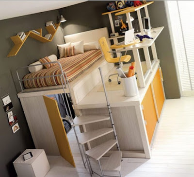 Awesome Cool Teenage Girl Bedroom Design Idea