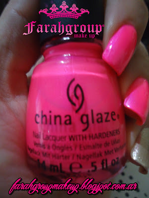 pink voltage, china glaze, neon china glaze