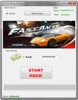 Fast Racing 3D Free Hack Tool Android,iOS
