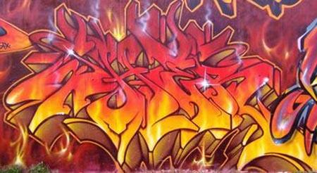 Graffiti alphabet graffiti letters mural graffiti
