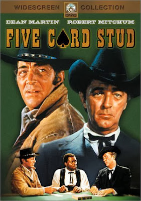 5 Card Stud (released in 1968) - Starring Dean Martin, Robert Mitchum and Inger Stevens