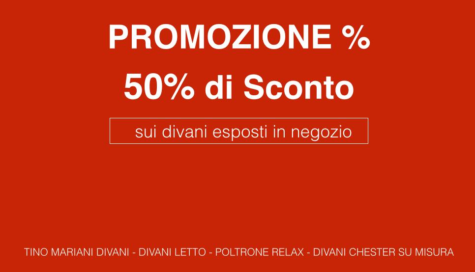 Divani in promozione | Tino Mariani