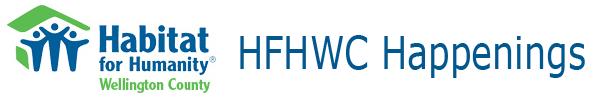 HFHWC Happenings