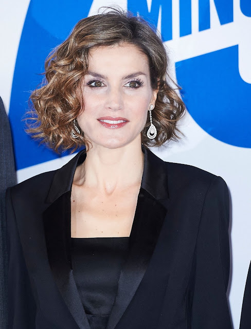 Queen Letizia of Spain attends '20 Minutos' Newspaper 15th Anniversary Party at Real Casa de Correos