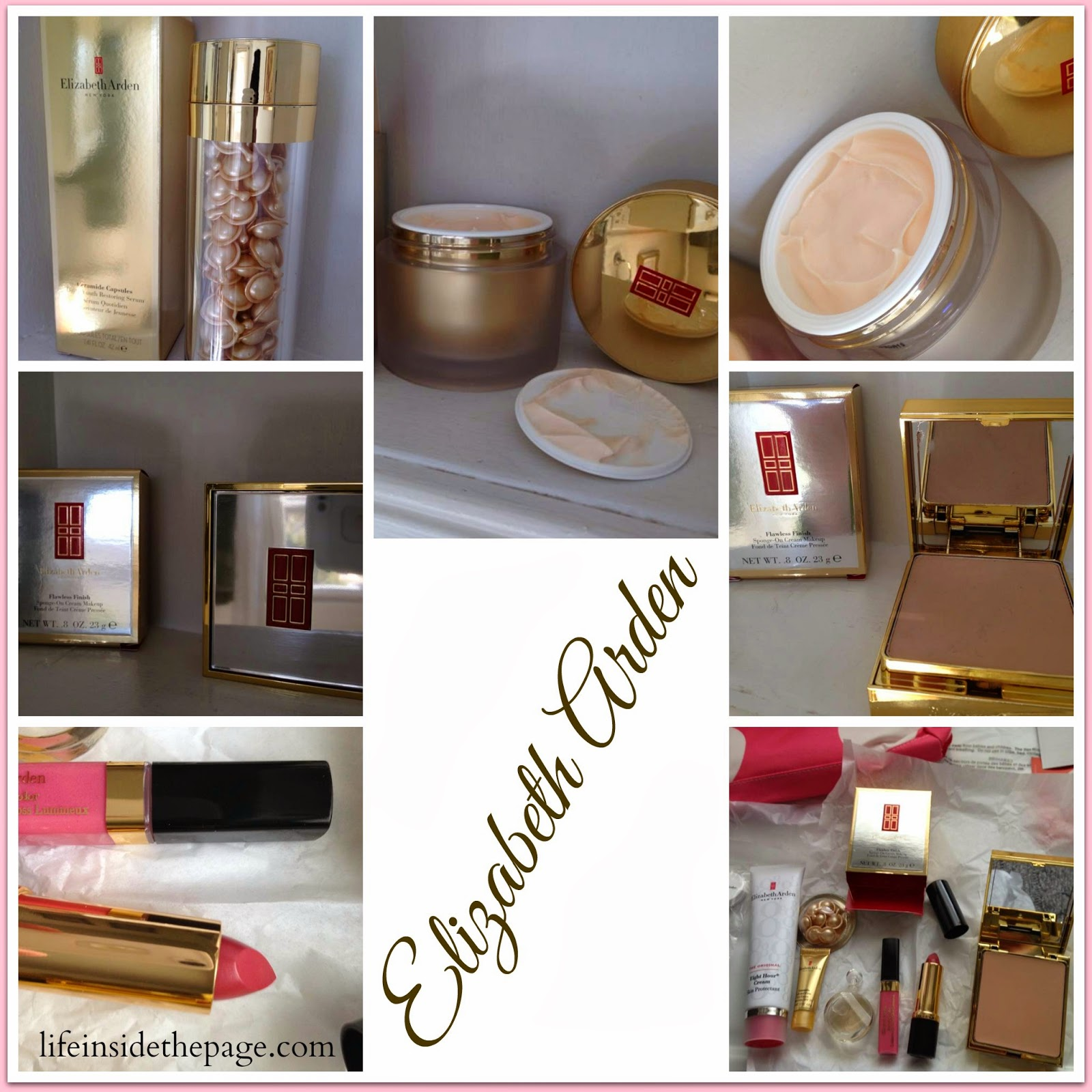 Department: Beauty | Elizabeth Arden | Ceramide | Day Cream - Serum - Makeup
