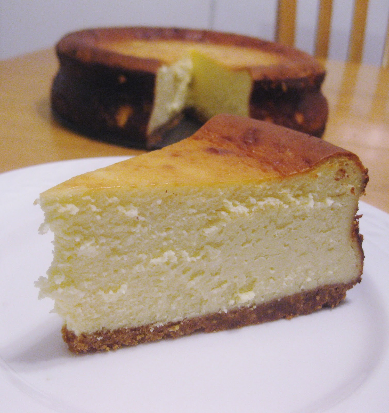 Sarah's Fares: New York-Style Cheesecake
