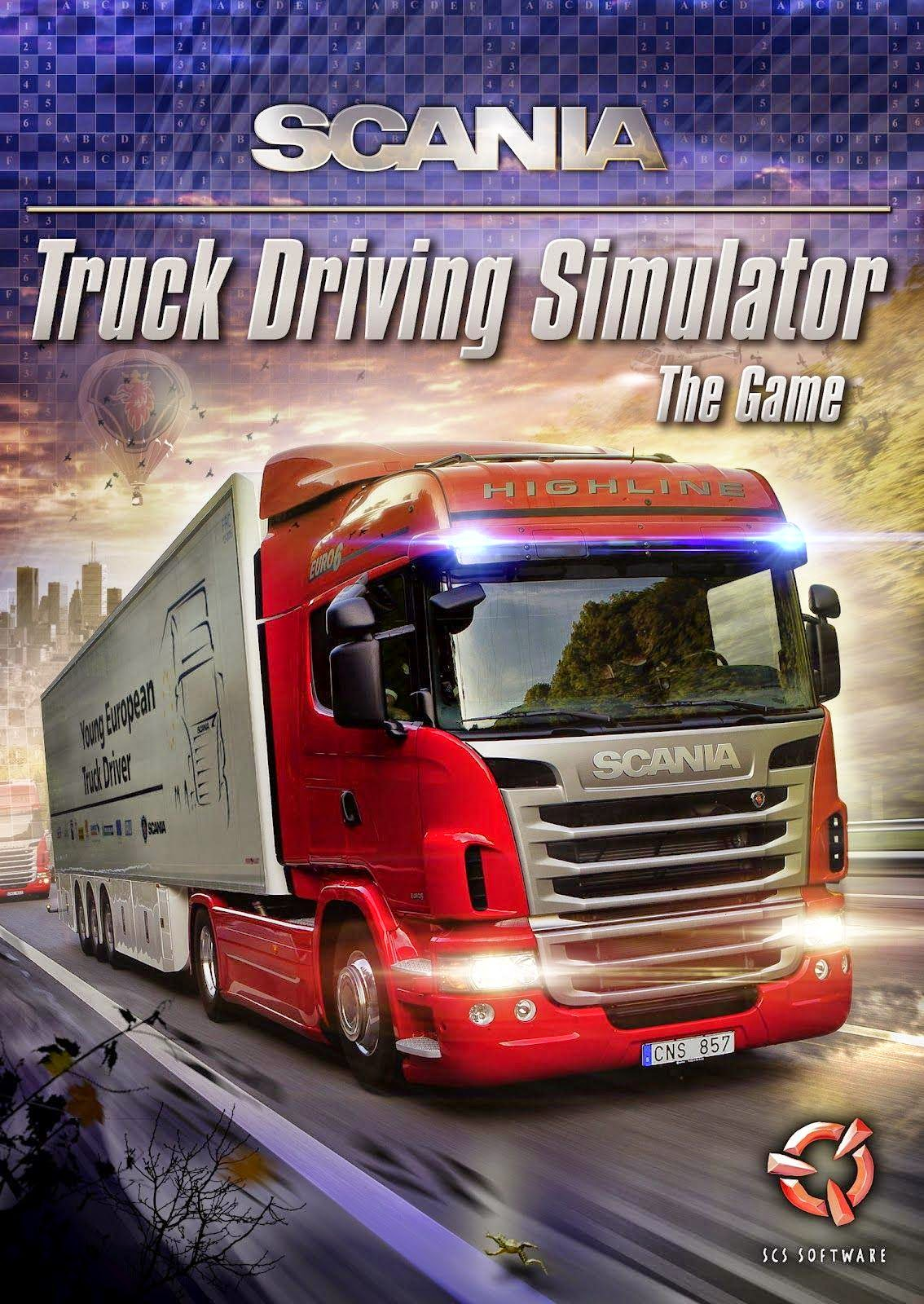 Scania Truck Driving Simulator Working