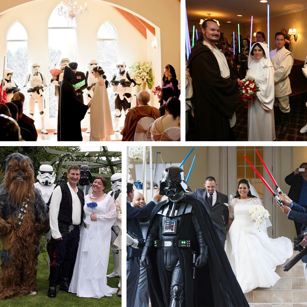 Casamento Darth Vader