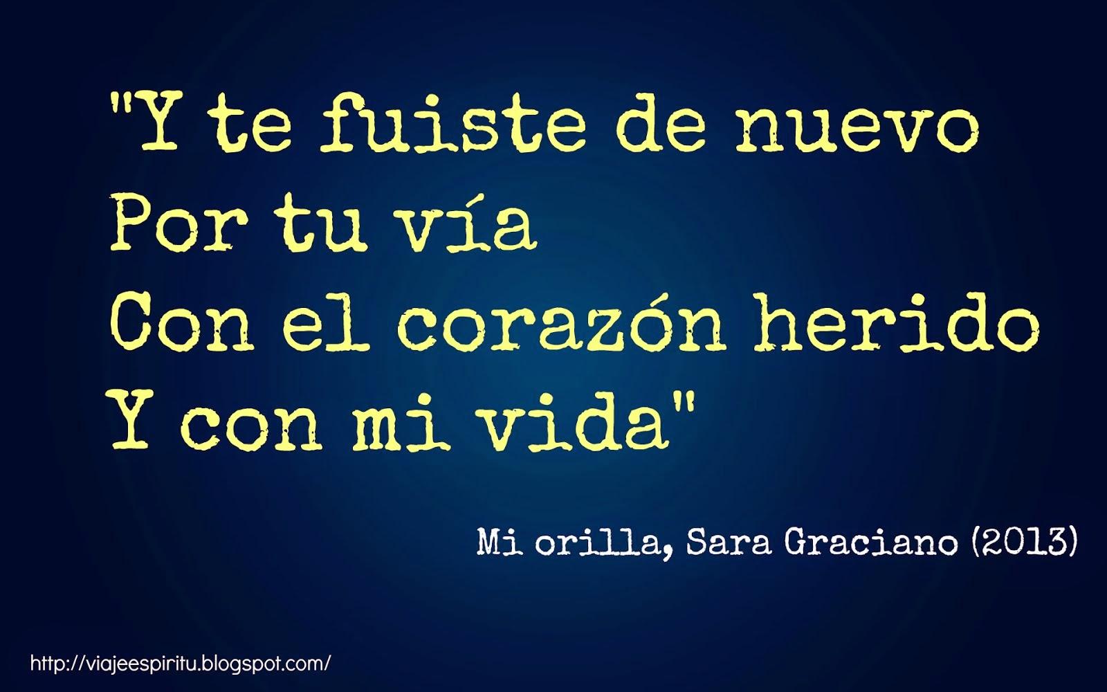 Mi orilla, Sara Graciano
