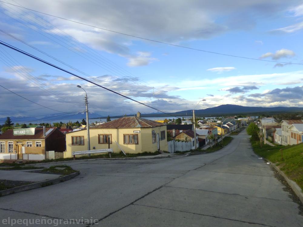 Puerto Natales ciudad, Chile