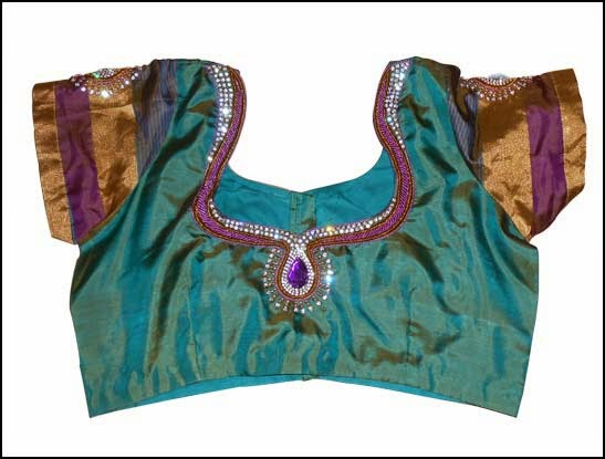 silk sari blouse