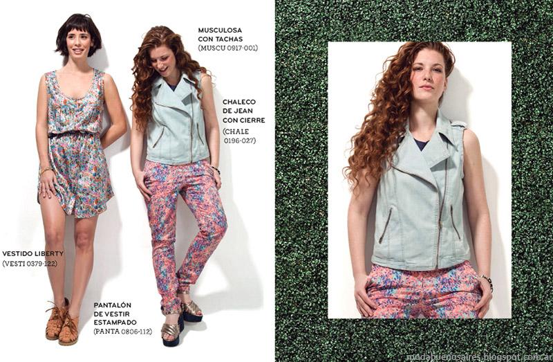 Chalecos de jeans verano 2015 Ver.