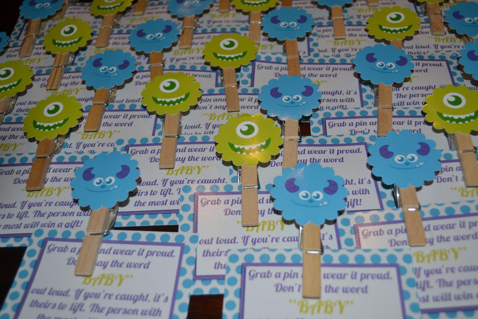 A Manda Creation Monsters Inc Baby Shower Round Up