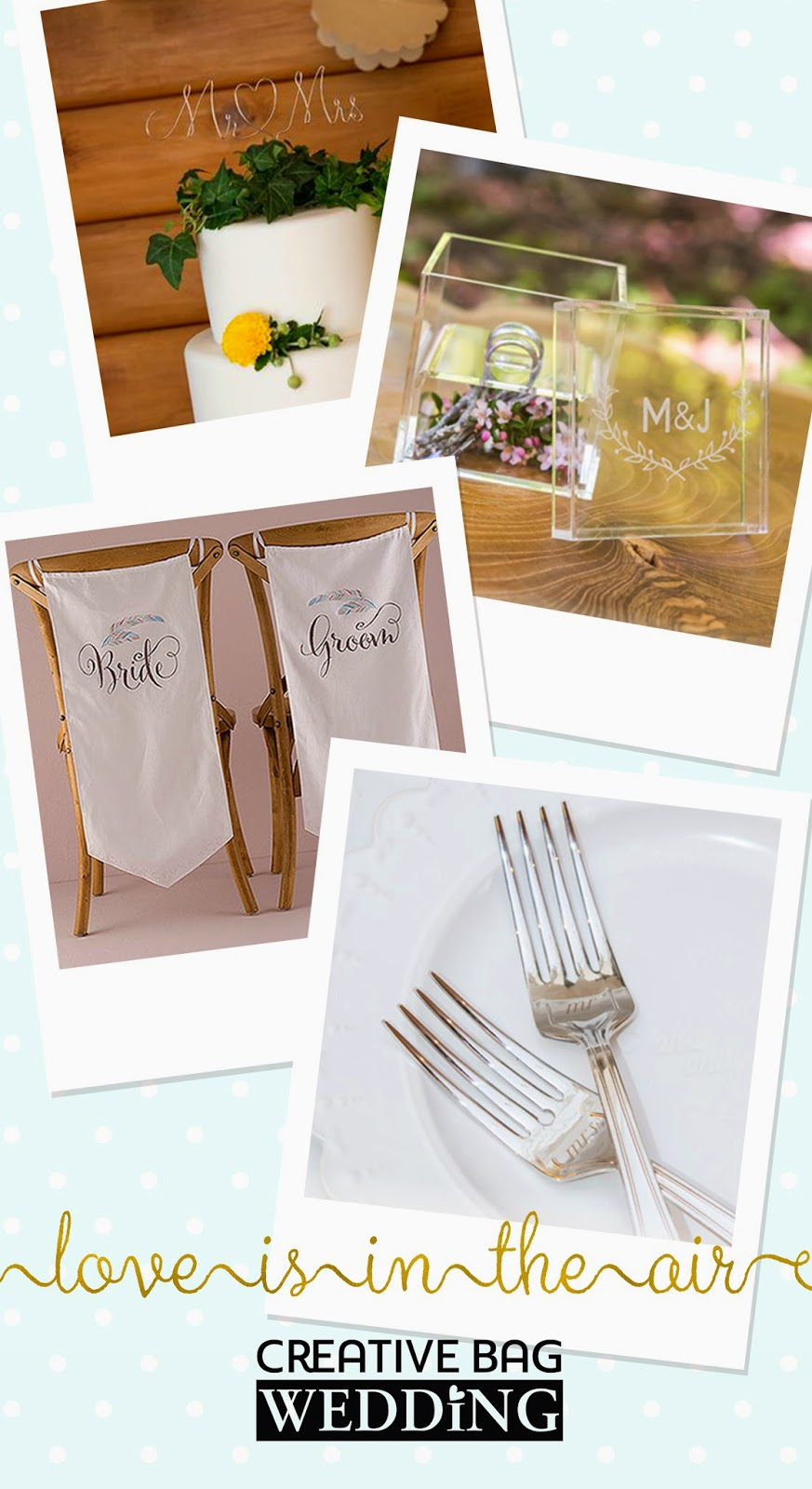 new wedding products for 2015 | creativebagwedding.com