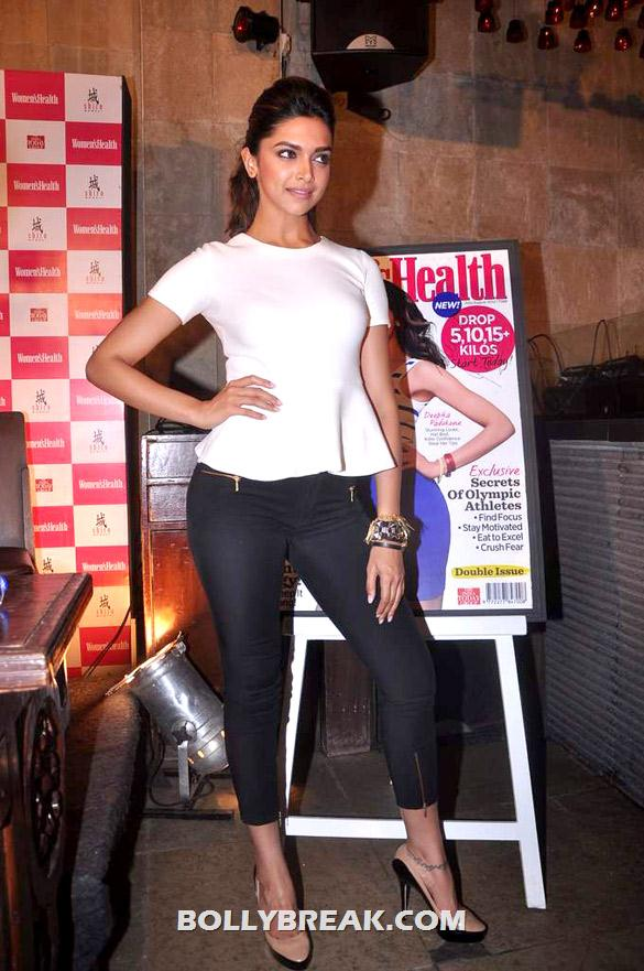 Deepika Padukone - (7) - Deepika launches double issue of Women's Health