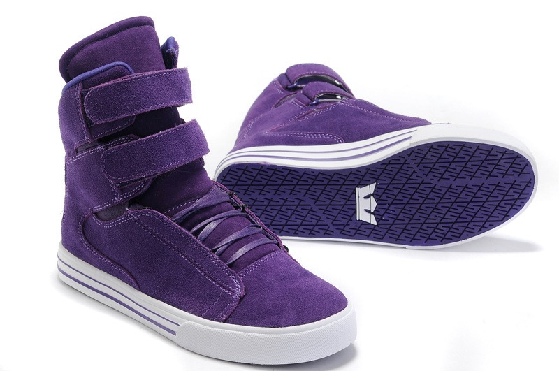 Justin bieber purple shoes