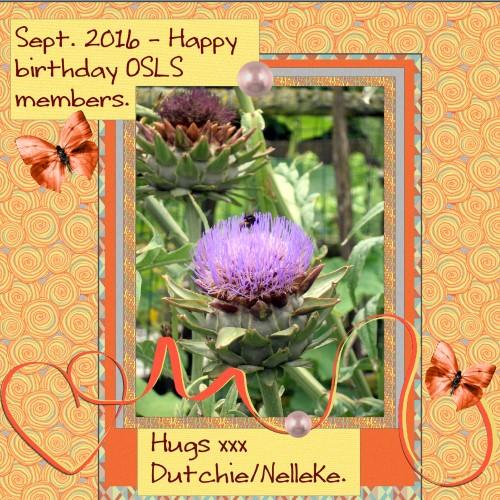Sept.2016 - Happy birthday members