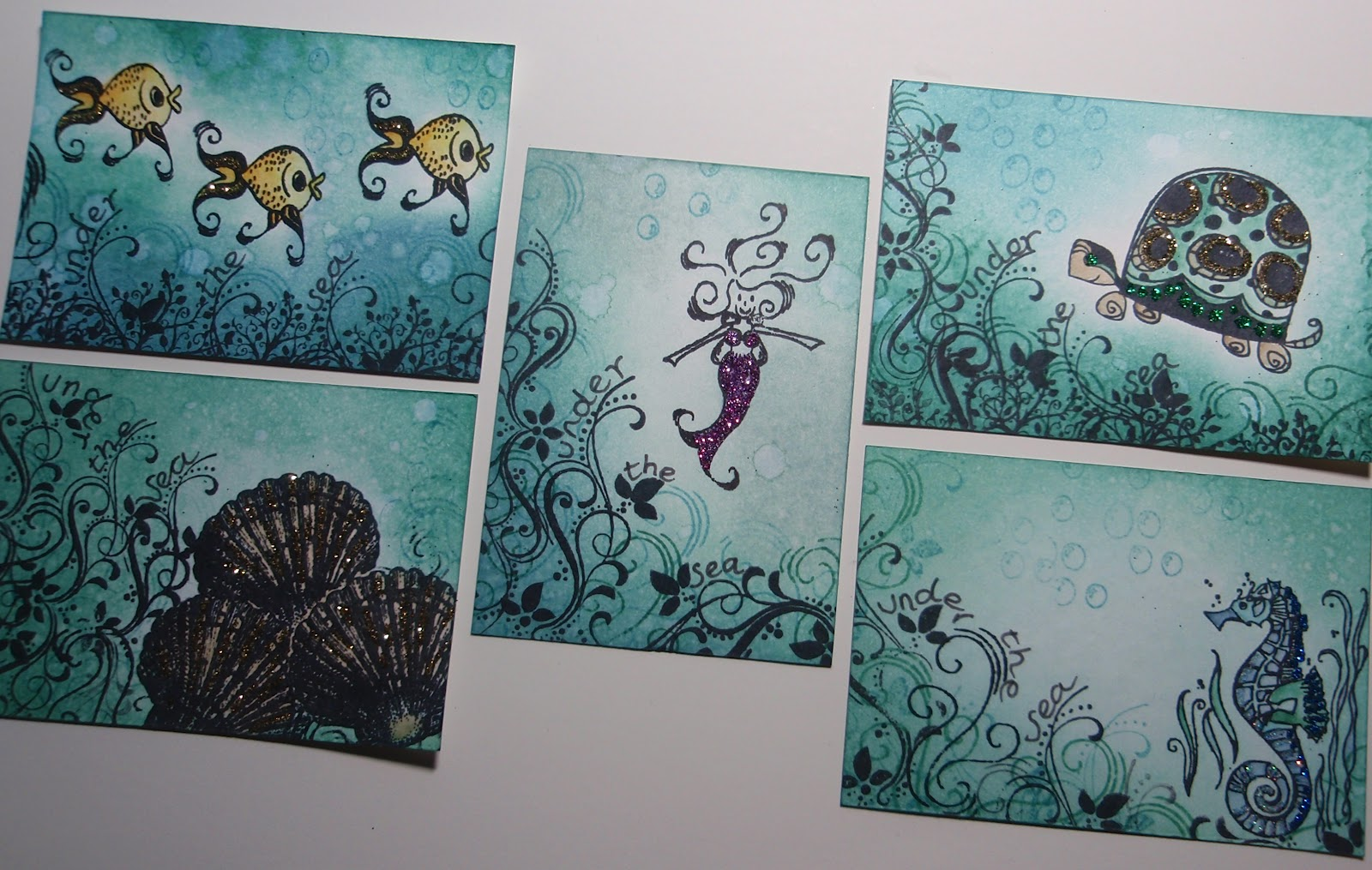 Crafter's Laboratory: Under the Sea ATC Swap