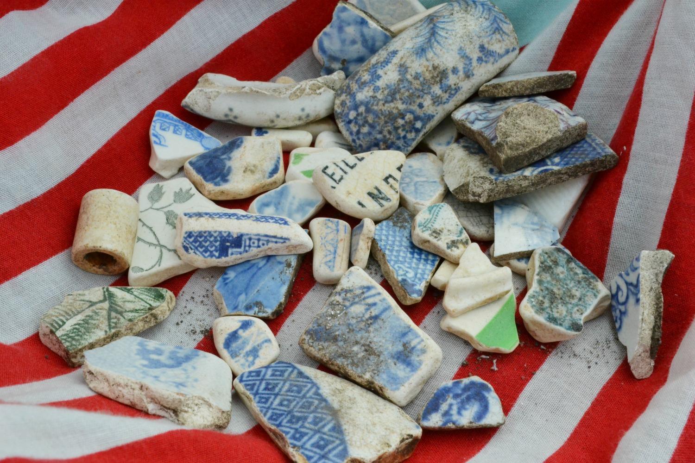 broken beach pottery porcelain