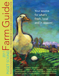 "My painting of ""Henrietta"" is on the cover of the Farm Guide"